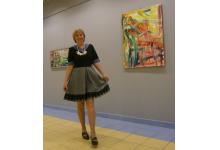 wernisaż w galerii SALON ART ARENA w Gliwicach listopad 2017